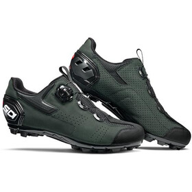 Sidi MTB Gravel Shoes Men black/dark/green